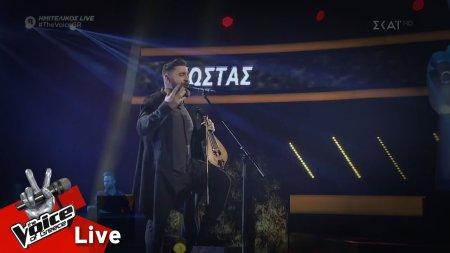 Κώστας Χειλάς - Ο ακροβάτης | 2ος Ημιτελικός | The Voice of Greece