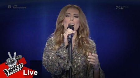 Χριστίνα Παπαδοπούλου - Στο'πα και στο ξαναλέω | 1o Live | The Voice of Greece