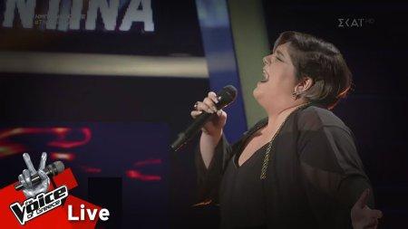 Κωνσταντίνα Υφαντή - Καίγομαι-καίγομαι | 2ος Ημιτελικός | The Voice of Greece