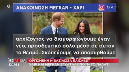 Megxit: Το παρασκήνιο μιας βασιλικής παραίτησης