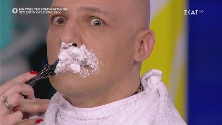 Ξύρισαν το μουστάκι του Μουτσινά live