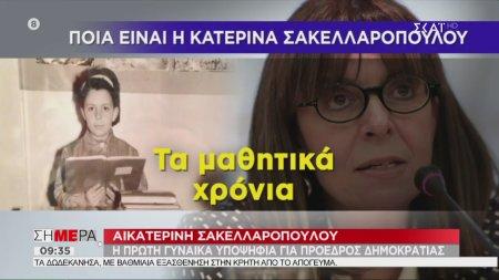 Ποια είναι η υποψήφια πρόεδρος της Δημοκρατίας - Αικατερίνη Σακελλαροπούλου