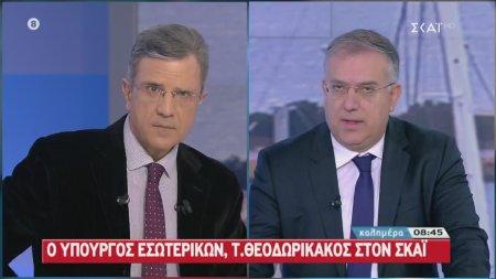 Τ. Θεοδωρικάκος: Δεν υπάρχει ενδεχόμενο για πρόωρες εκλογές
