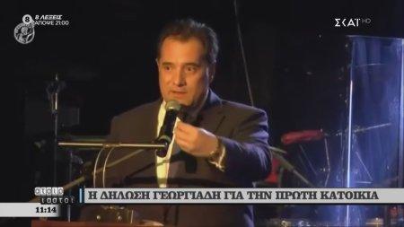 Η δήλωση Γεωργιάδη για την πρώτη κατοικία
