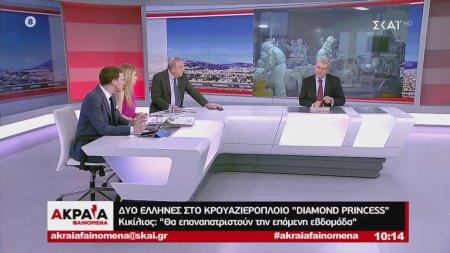 Δύο Έλληνες στο κρουαζιερόπλοιο Diamond Princess - Παγκόσμια επιφυλακή για τον Κορωνοϊό