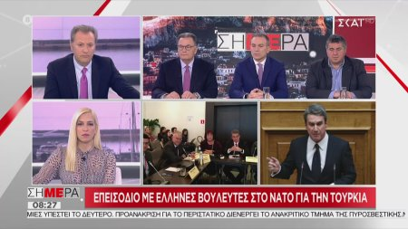 Ο Αντρέας Λοβέρδος για το επεισόδιο με Έλληνες βουλευτές στο ΝΑΤΟ
