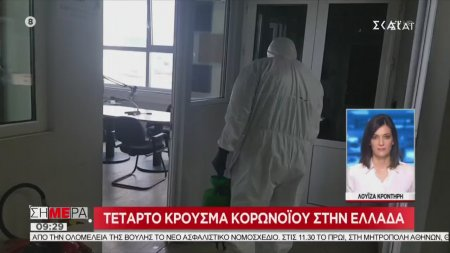 Τέταρτο κρούσμα κορωνοϊού στην Ελλάδα