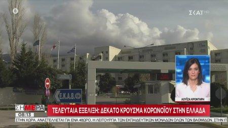 Δέκατο κρούσμα του κορωνοϊού στην Ελλάδα