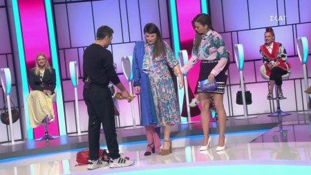 Το makeover της Κορίνας με υπογραφή Κουδουνάρη και παπούτσια Χριστοπούλου