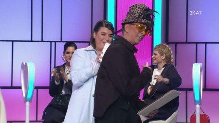 Η Κορίνα έκανε μασάζ με τσαντάκι στον Λάκη
