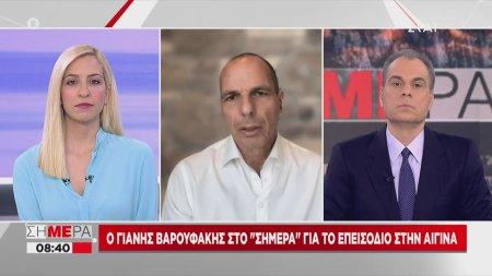 Βαρουφάκης: Ψεύδονται ασυστόλως όσοι λένε ότι δεν μου έγινε έλεγχος