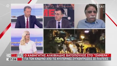 Βατόπουλος: Αν δεν προσέχουμε θα επιστρέψουμε στο κλείσιμο