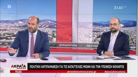Μαρκόπουλος και Μπάρκας στον ΣΚΑΪ | 28/06/2020