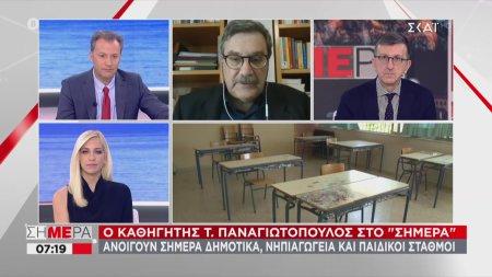 Ο καθηγητής Τ. Παναγιωτόπουλος στον ΣΚΑΪ