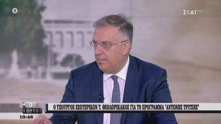 Θεοδωρικάκος: Θα απασχοληθούν 40.000 άνθρωποι στα έργα | 19/06/2020