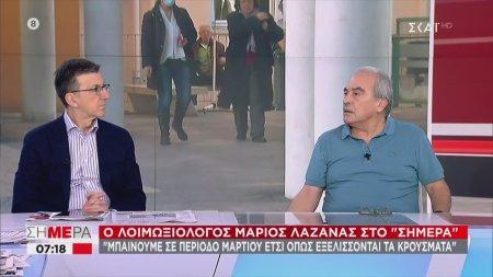 Λαζανάς: Αν συνεχίσουν να αυξάνονται τα κρούσματα, μπαίνουμε σε περίοδο Μαρτίου