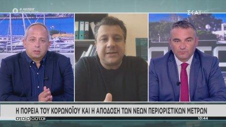 Δερμιτζάκης: Εμείς διαπιστώνουμε λίγα κρούσματα σε σχέση με τους θανάτους που έχουμε