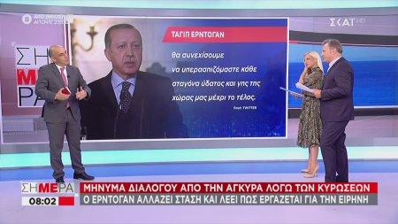 Μήνυμα διαλόγου από την Άγκυρα λόγω των κυρώσεων
