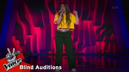Ειρήνη Παζάκου - Scared To Be Lonely | 2o Blind Audition | The Voice of Greece