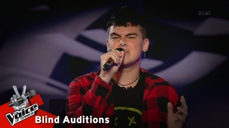 Σπύρος Βραχλιώτης - Stay | 3o Blind Audition | The Voice of Greece