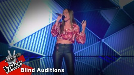 Νάντια Βασιλοπούλου - I Drove All Night | 2o Blind Audition | The Voice of Greece