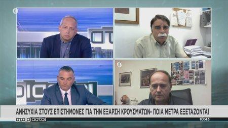 Βατόπουλος: Ανησυχώ για τα σοβαρά κρούσματα