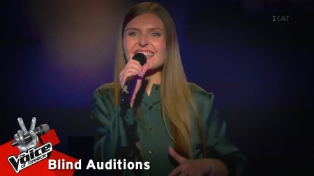 Adrianna Hebisz - Part time lover | 7o Blind Audition | The Voice of Greece