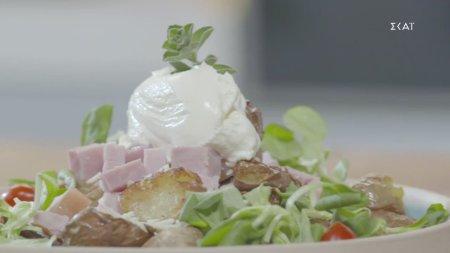 Πατάτες τσακιστές στο τηγάνι