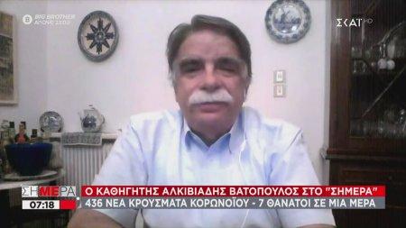 Βατόπουλος: Κάνουμε κλεφτοπόλεμο με τον κορωνοϊό