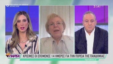 Η μικροβιολόγος που εντόπισε το πρώτο κρούσμα covid στην Ελλάδα στο ΣΚΑΪ