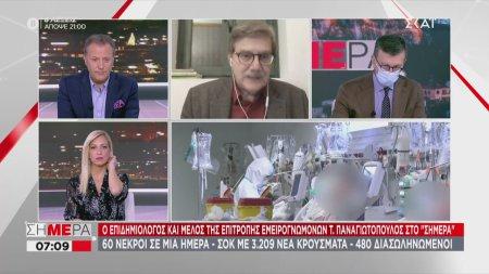 Παναγιωτόπουλος σε ΣΚΑΪ: Ίσως παραταθεί το lockdown για 1-2 εβδομάδες