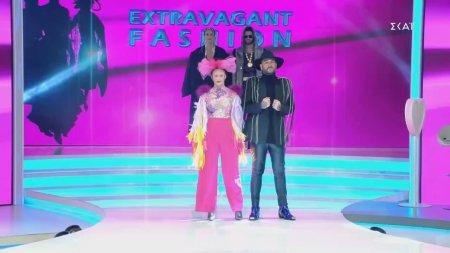 Πασαρέλα με θέμα: Extravagant Fashion