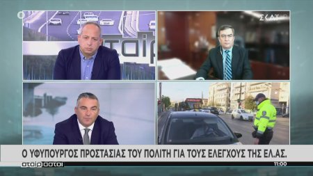 Ο Υφυπουργός Προστασίας του Πολίτη για τους ελέγχους της ΕΛ.ΑΣ.