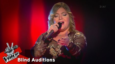 Σύλια Καραγιάννη - Για σένανε μπορώ | 11o Blind Audition | The Voice of Greece