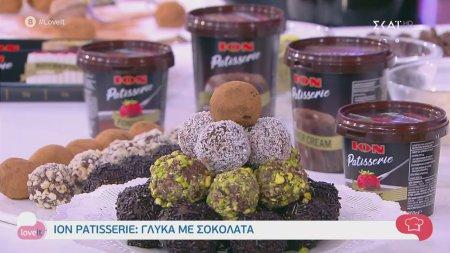 Ο pastry chef Δημήτρης Μακρυνιώτης φτιάχνει τρουφάκια