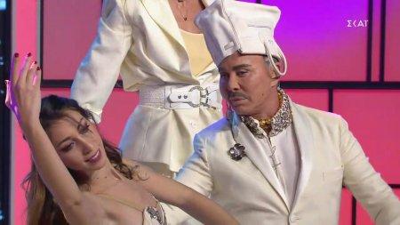 Πασαρέλα και χορός του Λάκη Γαβαλά