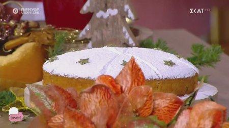 Ο pastry chef Δημήτρης Μακρυνιώτης φτιάχνει κέικ βασιλόπιτα