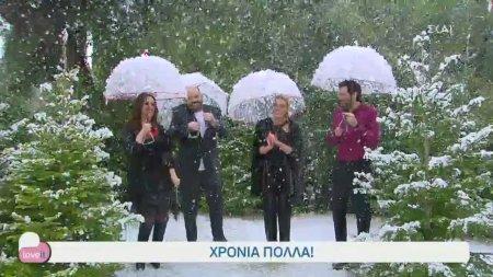 Χρόνια πολλά! - Η Ιωάννα Μαλέσκου και οι συνεργάτες της μας εύχονται από τα χιόνια