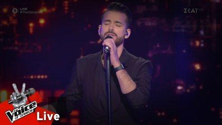 Κωνσταντίνος Δημητρακόπουλος - Αθήνα μου | 1o Live | The Voice of Greece