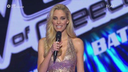 Παρουσίαση του 1ο Live The Voice of Greece από την Δούκισσα Νομικού