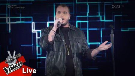 Στέφανος Καρπέτης - Time is running out | 1o Live | The Voice of Greece