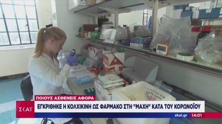 Εγκρίθηκε η κολχικίνη ως φάρμακο στη μάχη κατά του κορωνοϊού