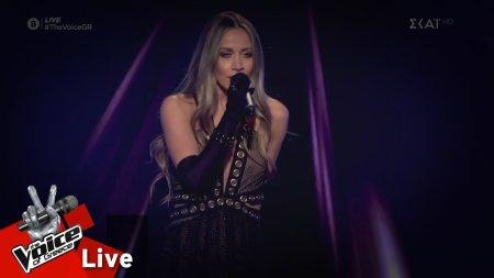 Λία Μίχου - Πόσο λίγο με ξέρεις | 2o Live | The Voice of Greece