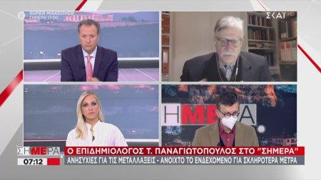 Παναγιωτόπουλος - ΣΚΑΪ: Πολύ δύσκολη η κατάσταση – Με προβληματίζει που νόσησε εκ νέου ο ιερέας