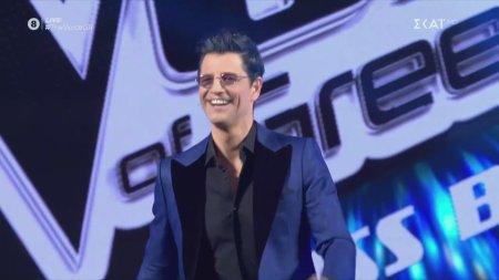 Παρουσίαση των κριτών του 1ο Live The Voice of Greece