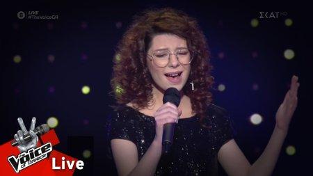 Νικολέτα Ρουμελιώτη - Who's Lovin' You | 1o Live | The Voice of Greece