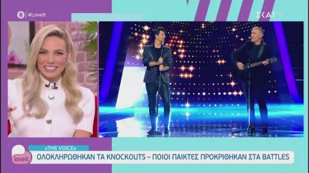 The Voice: Ολοκληρώθηκαν τα Knockouts - Ποιοι παίκτες προκρίθηκαν στα Battles