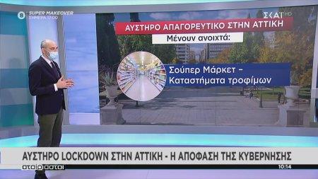 Αυστηρό lockdown στην Αττική - Η απόφαση της κυβέρνησης