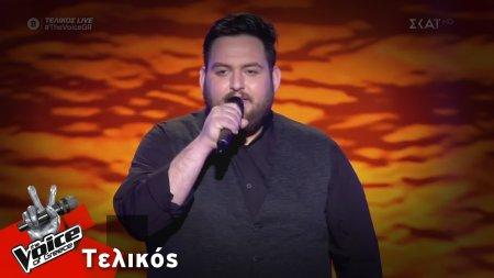 Νίκος Νταλάκας  - Κρύψου | Τελικός | The Voice of Greece