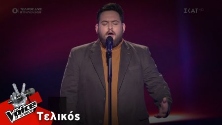 Νίκος Νταλάκας  - Σχήμα Λόγου | Τελικός | The Voice of Greece